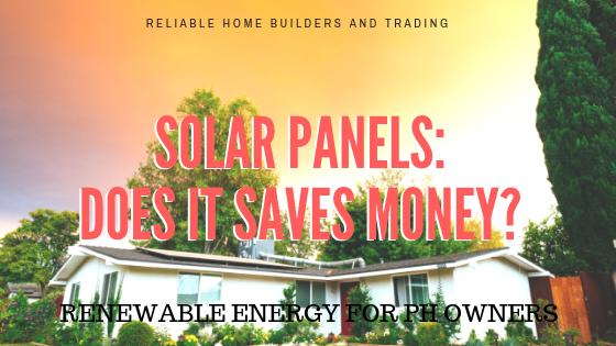 Solar Panel Cost Banner